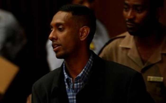 Donovan Moodley, convicted killer of Bond University student Leigh Matthews, appears at the South Gauteng High Court. Picture: Werner Beukes/SAPA.