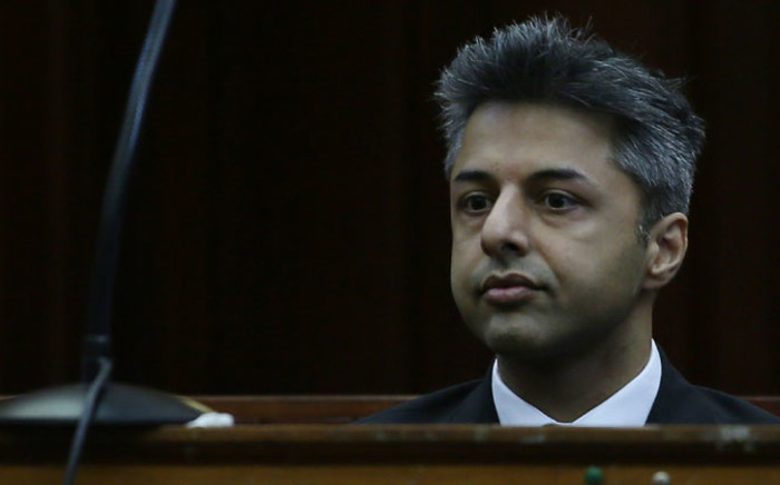 British businessman Shrien Dewani appears in the Western Cape High Court on 6 October 2014. Picture: Sapa.