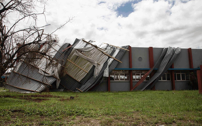 The University in Beira is closed after severe damage to the building, caused by Cyclone Idai.  Picture: Christa Eybers/EWN.