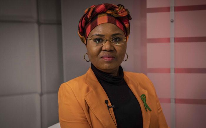 Social Development Minister Lindiwe Zulu. Picture: Abigail Javier/EWN