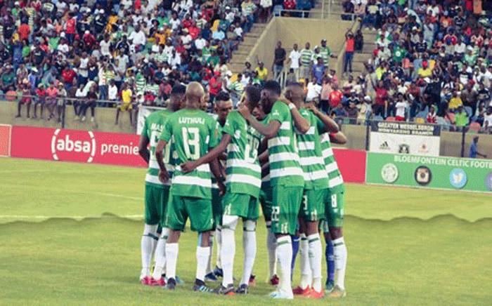 FILE: Bloemfontein Celtic players. Picture: @Bloem_Celtic/Twitter.