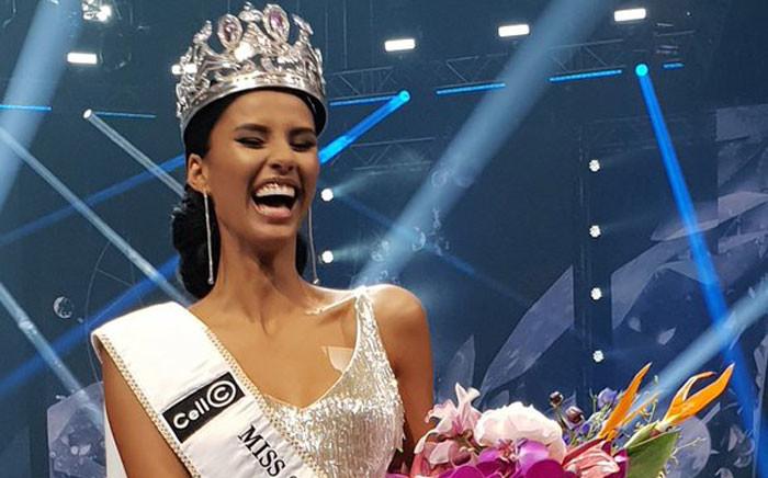 Miss South Africa 2018, Tamaryn Green. Picture: Louise McAuliffe/EWN