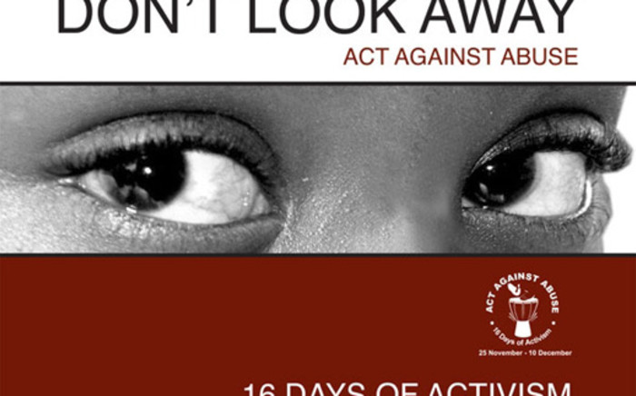 16 Days of Activism for No Violence Against Women and Children.