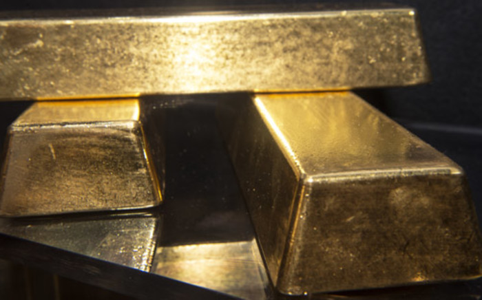 FILE: Gold bars. Picture: AFP.