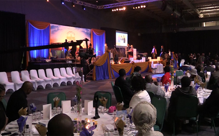 Nigeria building collapse victims were remembered at a commemoration in Midrand at the weekend. Picture: EWN.