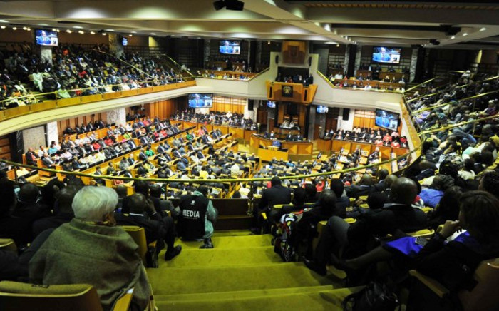 President Jacob Zuma addresses Parliament during his State of the Nation Address on 17 June 2014. Picture: GCIS
