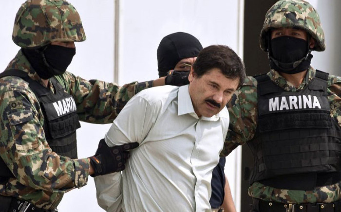 Mexican drug kingpin Joaquin 'El Chapo' Guzman. Picture: AFP