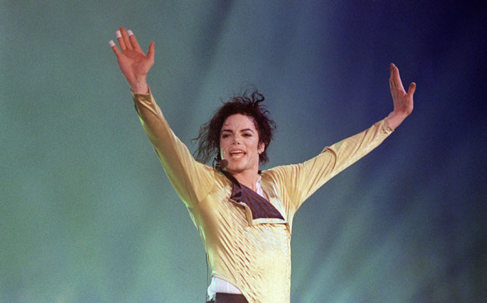 Late US pop star and entertainer Michael Jackson. Picture: AFP.