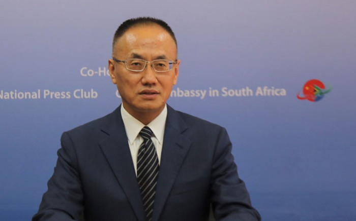 Chinese Ambassador to South Africa, Chen Xiaodong. Picture: @chinainsa/Facebook