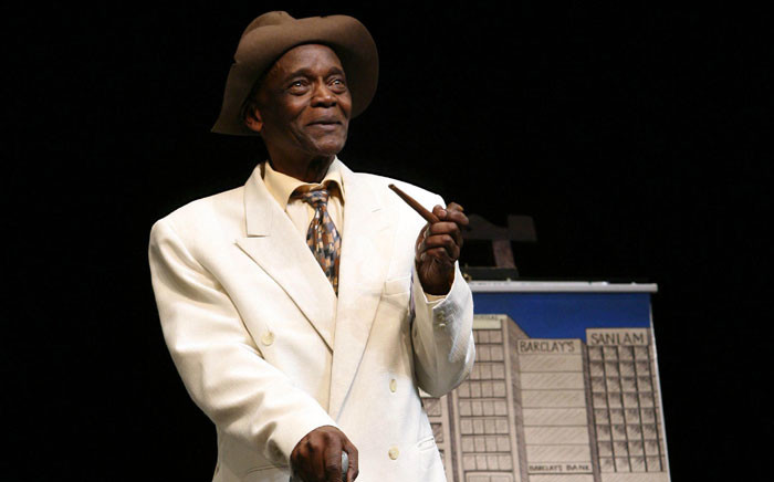 Winston Ntshona on 'Sizwe Banzi is dead'. Picture: RuphinCoudyzer/Market Theatre.