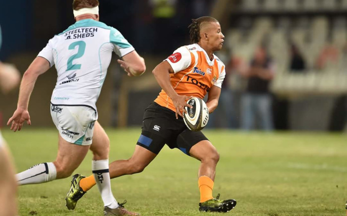 Clayton Blommetjies in action for the Cheetahs. Picture: Twitter/@Cheetahsrugby