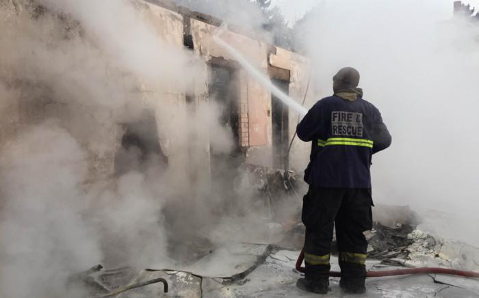 Veld fires. Picture: Aletta Gardner/EWN