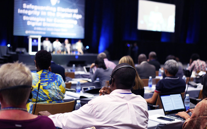 IEC is hosting a global conference on the potential pitfalls of social media. Picture: @ShalestoneGov/Twitter.