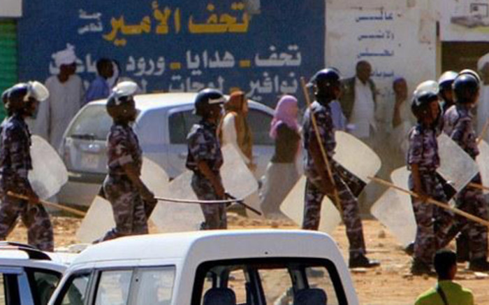 Anti-government protests in Sudan against President Omar Hassan al-Bashir. Picture: AFP