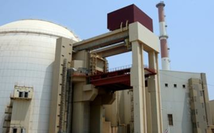 A picture shows the reactor building at the Russian-built Bushehr nuclear power plant in southern Iran on August 21, 2010. Picture: AFP.