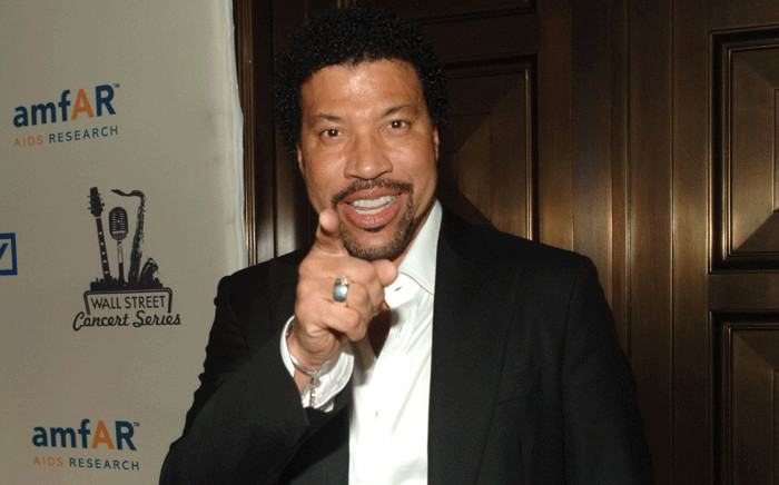 FILE: Singer Lionel Richie. Picture: AFP.