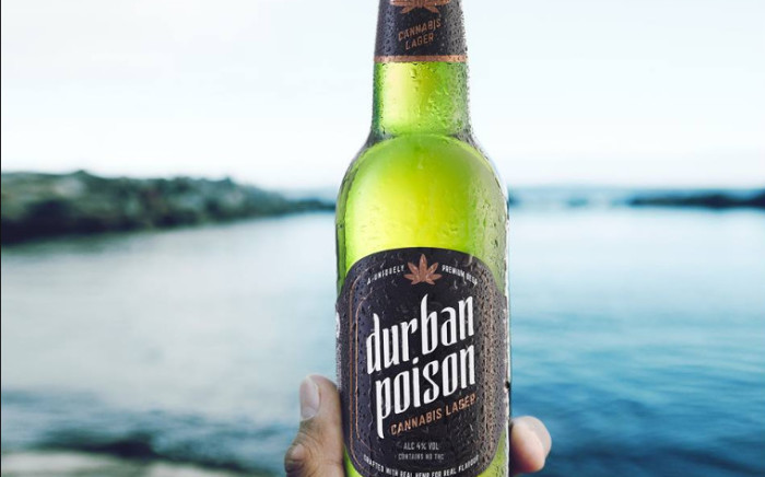 Durban Poison Cannabis Lager. Picture: Supplied