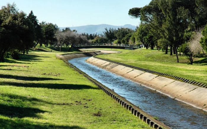 The canal in the centre of Pinelands, a suburb in Cape Town. Picture: pinelandstourism.com