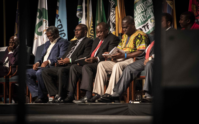 Political parties at the IEC code of conduct ceremony in Midrand. Picture: Abigail Javier/EWN