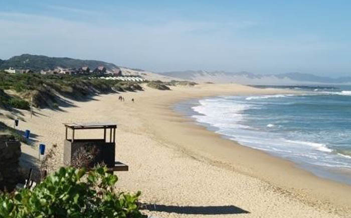 The Port Alfred beach. Picture: Tracks4Africa.co.za