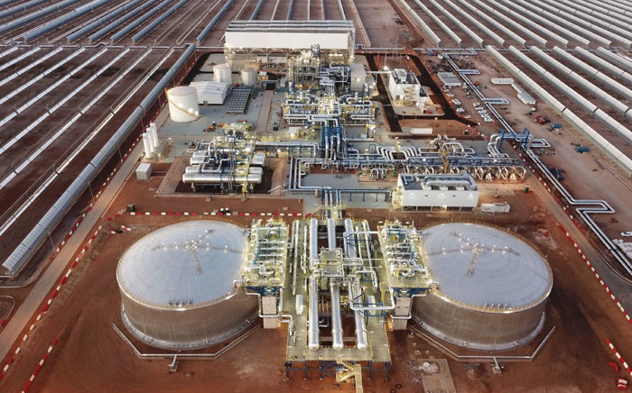 The Kathu solar power plant in the Northern Cape. Picture: Supplied