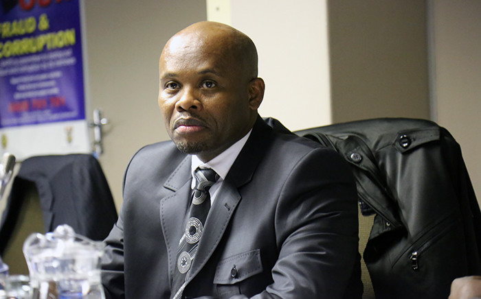 The disciplinary hearing of Gauteng Hawks boss Shadrack Sibiya for his involvement in the 2010 rendition of several Zimbabweans started in Pretoria on 10 June 2015. Picrure: Reinart Toerien/EWN