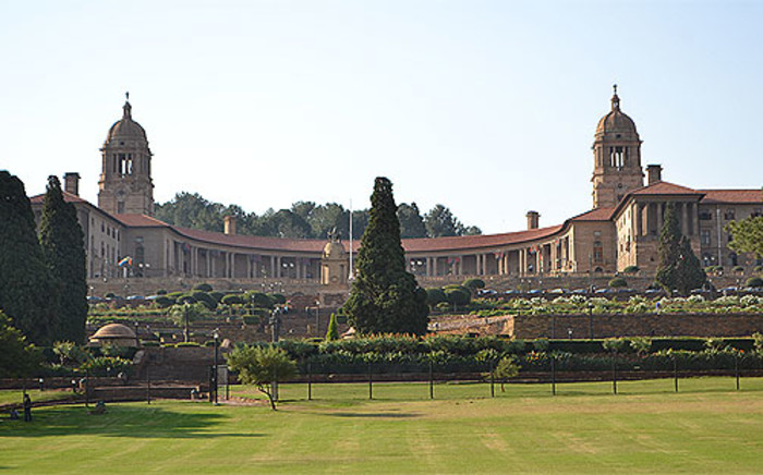 The Union Buildings in Pretoria where Nelson Mandela's body will lie in state from 11 to 13 December. Picture: Supplied.