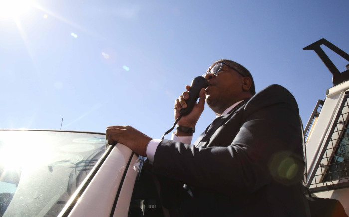 FILE: Minister of Police Fikile Mbalula. Picture: Cindy Archillies/EWN.