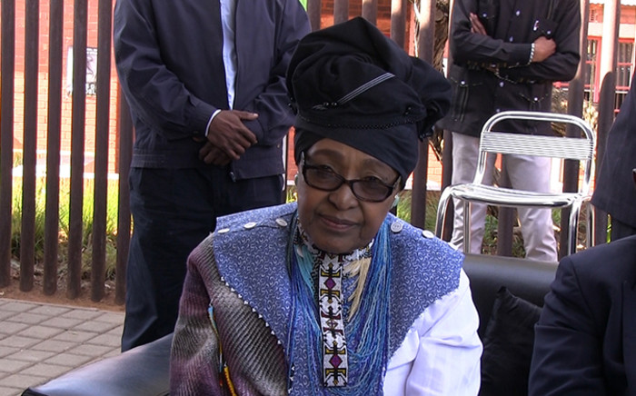 FILE. ANC stalwart Winnie Madikizela-Mandela hosted a tea at the Mandela family restaurant for underprivileged children and the elderly members of the Soweto community on 18 July 2014 as part of Mandela day celebrations. Picture: Reinart Toerien/EWN