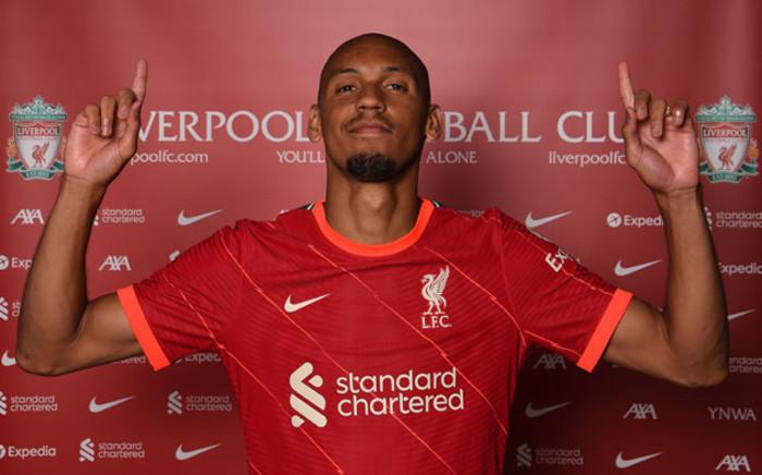 Liverpool midfielder Fabinho. Picture: @LFC/Twitter
