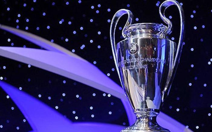 Uefa Champions League trophy. Picture: AFP.
