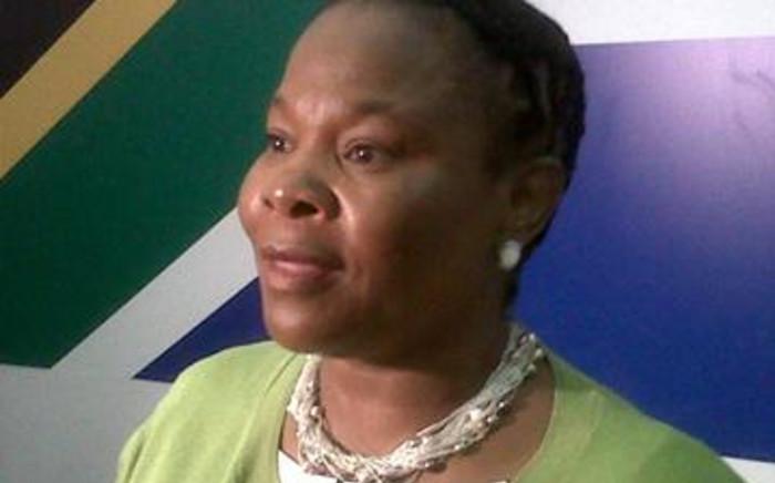 Mineral Resources Minister Susan Shabangu. Picture: EWN.
