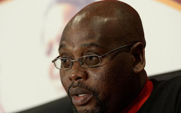 Cosatu president Sidumo Dlamini. Picture: AFP.