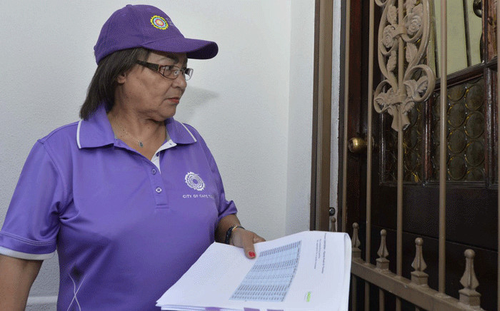 FILE: Cape Town Mayor Patricia de Lille seen on Sunday, 3 December 2017, as the city installed water management devices at properties amid a drought. Picture: @PatriciaDeLille/Twitter