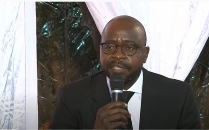 A screenshot of Swifambo Rail director Auswell Mashaba. Picture: Genghis Capital Limited/ YouTube.