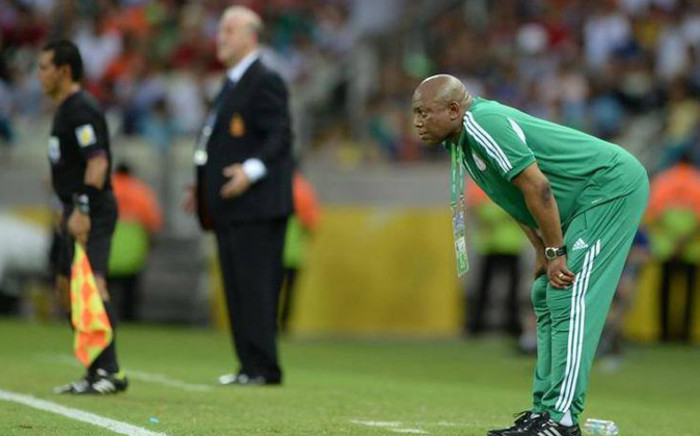 Stephen Keshi stepped down as Nigeria coach following the 2014 Fifa World Cup defeat to France. Picture: Facebook.