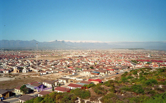 View from Khayelitsha Lookout Hill over Ilitha Park. Picture: FreddieA/Wikimedia Commons.