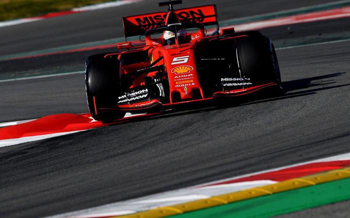 A Ferrari racing machine during testing on 2 March 2019. Picture: @ScuderiaFerrari/Twitter