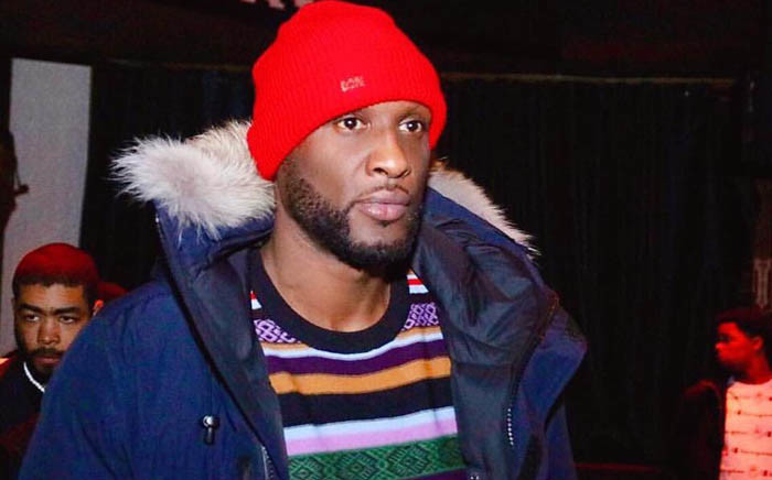 Basketball star Lamar Odom. Picture: @reallamarodom/Facebook.com.