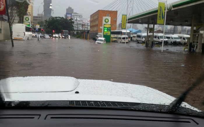FILE: The wet weather is expected to continue into the weekend. Picture: Twitter @OF_THE_SOUTH.