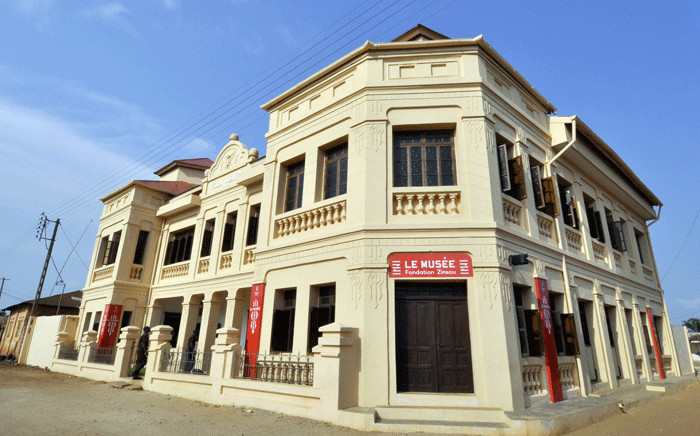 FILE: This picture taken on 29 January 2014 shows the renovated villa Ajavon, which was originally built in 1922, where the new Zinsou museum and contemporary arts center has been established, in Ouidah. The small coastal town of Ouidah, some 40km from Cotonou, long known for being one of the embarking points for many African slaves on their way to America, is now home to the Zinsou museum. Picture: AFP