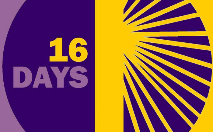 The 16 Days of Activism logo. Picture: Facebook.com