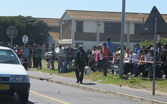 FILE: The child was hit by a stray bullet while walking home this afternoon. Picture: Shamiela Fisher/EWN