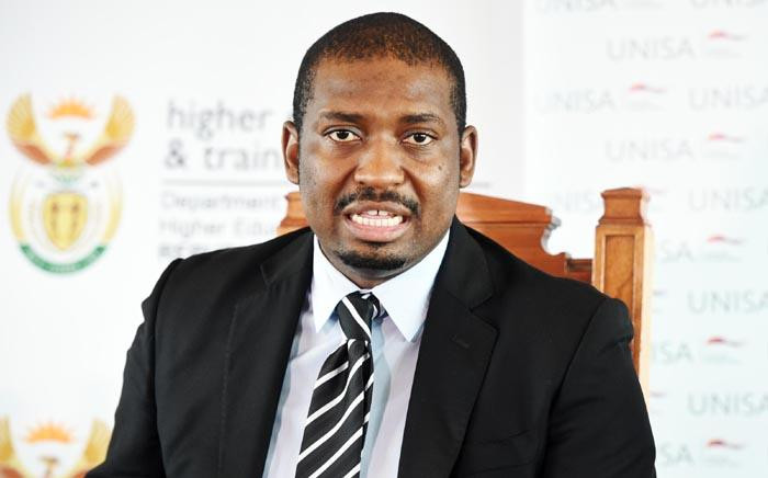 FILE: Deputy Higher Education and Training Minister Buti Manamela. Picture: GCIS