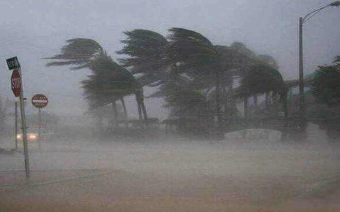 Storm Eloise made landfall in Mozambique on Saturday, 23 January 2021. Picture: Gauteng Weather FB