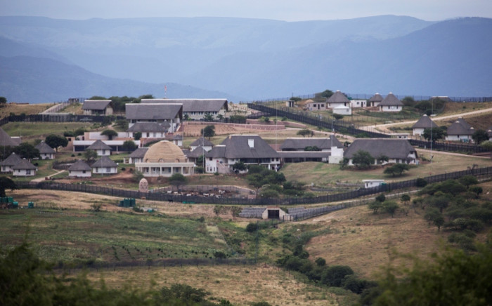 President Jacob Zuma's homestead in Nkandla. Picture: AFP.