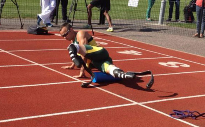 Oscar Pistorius at the London 2012 Olympic Games. Picture: Marc Lewis/EWN