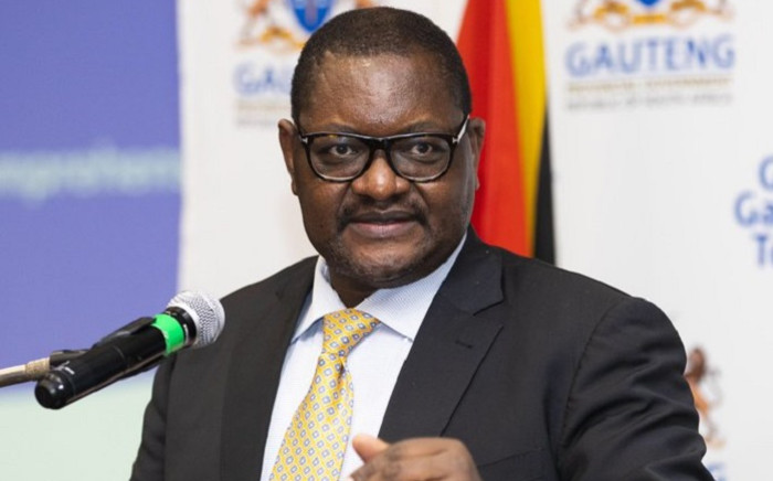 FILE: Gauteng Premier David Makhura on 14 May 2020 gave a briefing in Johannesburg on the province's COVID-19 response. Picture: @GautengProvince/Twitter.