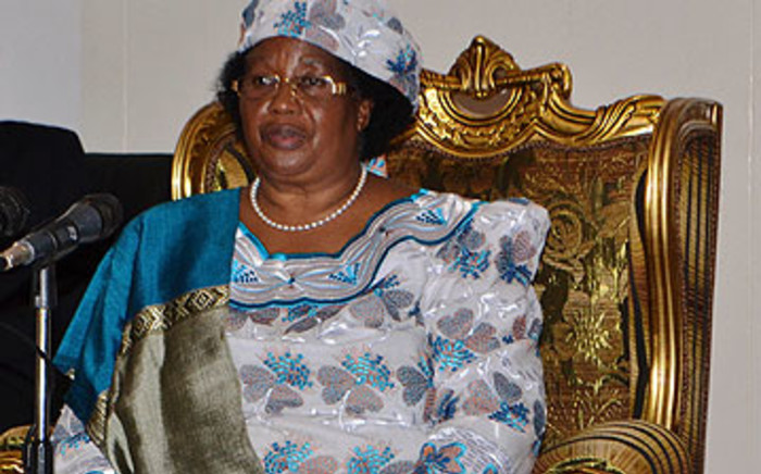 Malawian President Joyce Banda