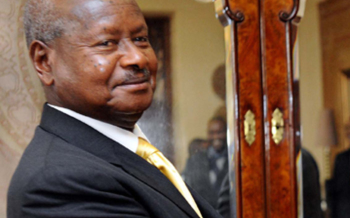Ugandan President Yoweri Museveni. Picture: AFP.